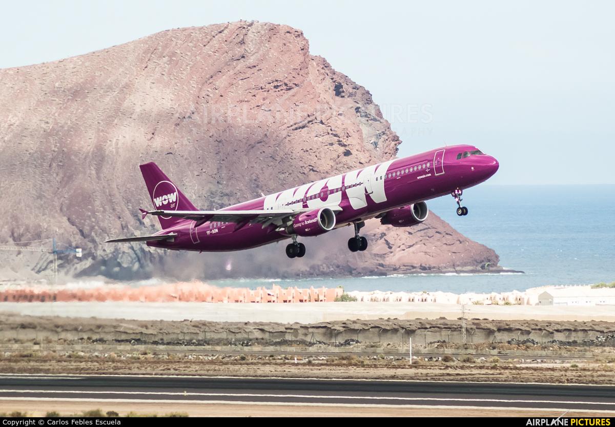 WOW Air TF-SON aircraft at Tenerife Sur - Reina Sofia