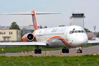 UR-COB - Bravo Airways McDonnell Douglas MD-83