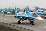 12 - Russia - Air Force Sukhoi Su-34 aircraft