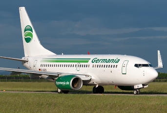 D-AGEQ - Germania Boeing 737-700
