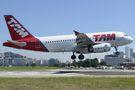 TAM Airbus A319 PR-MBN at Rio de Janeiro - Santos Dumont airport