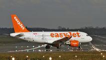 G-EZEZ - easyJet Airbus A319 aircraft