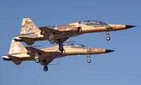 3-7155 - Iran - Islamic Republic Air Force Northrop F-5F Tiger II aircraft