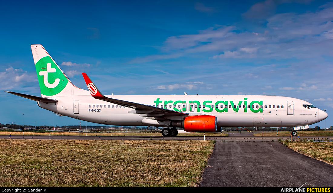 Transavia PH-GGX aircraft at Amsterdam - Schiphol