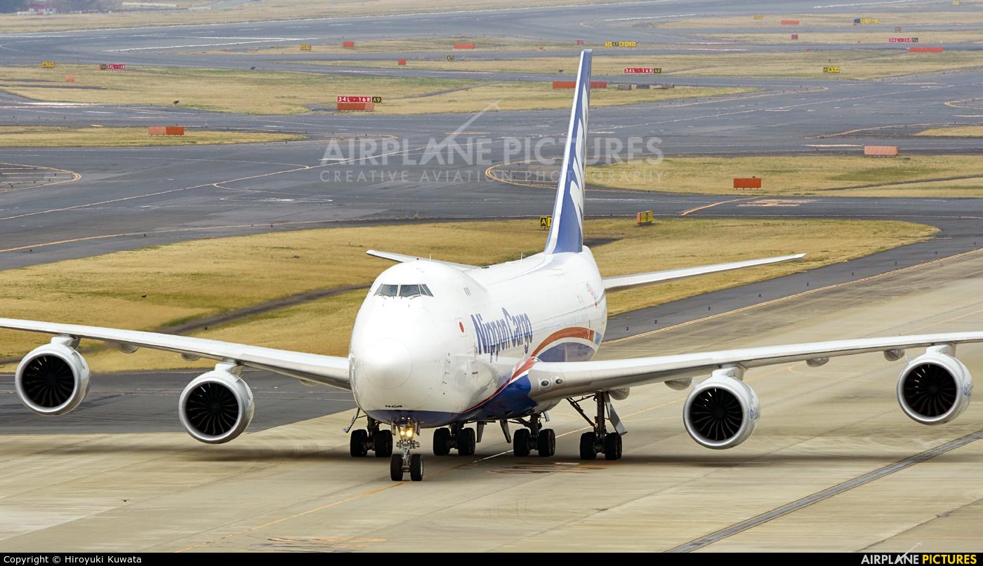 Nippon Cargo Airlines JA14KZ aircraft at Tokyo - Narita Intl