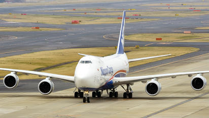 JA14KZ - Nippon Cargo Airlines Boeing 747-8F