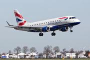 G-LCYG - British Airways - City Flyer Embraer ERJ-170 (170-100) aircraft