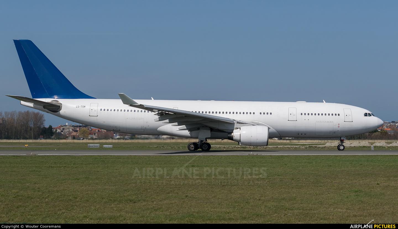 Hi Fly CS-TQW aircraft at Ostend / Bruges