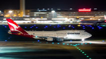 VH-OJU - QANTAS Boeing 747-400 aircraft