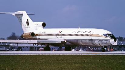 XA-MEQ - Mexicana Boeing 727-200