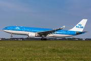 PH-AOB - KLM Airbus A330-200 aircraft