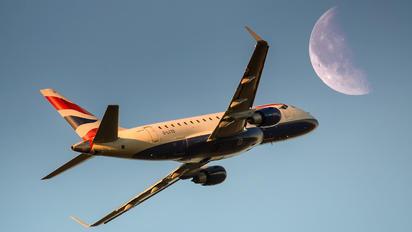 G-LCYD - British Airways - City Flyer Embraer ERJ-170 (170-100)