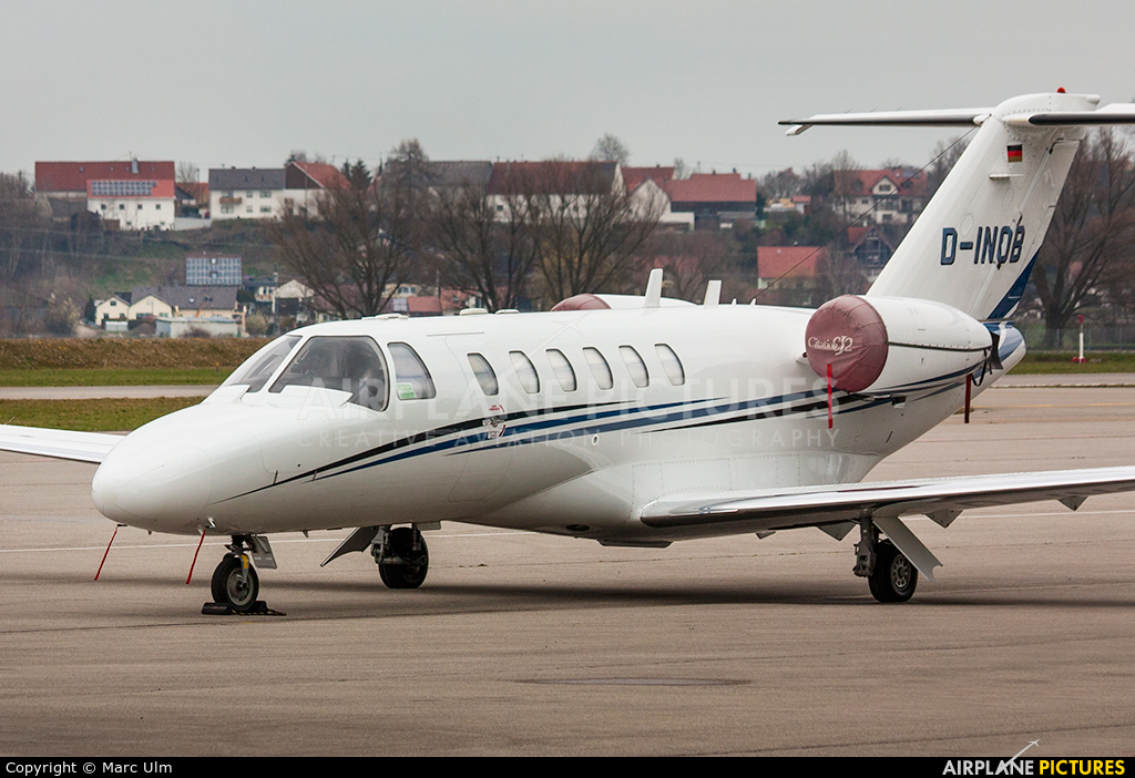 Atlas Air Serice D-INOB aircraft at Augsburg