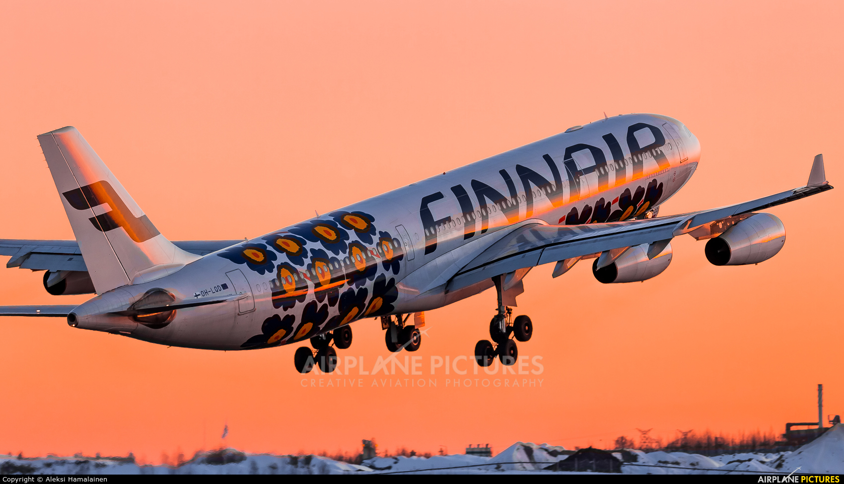 Finnair OH-LQD aircraft at Helsinki - Vantaa