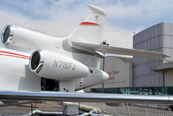 N715FJ - Private Dassault Falcon 7X