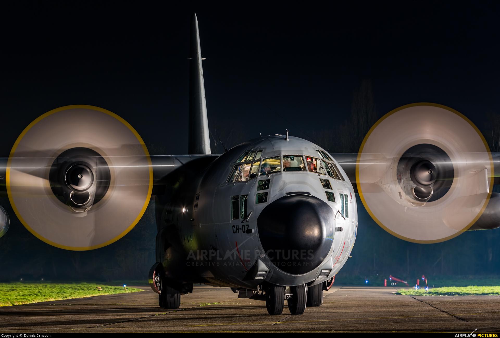 Belgium - Air Force CH-07 aircraft at Beauvechain