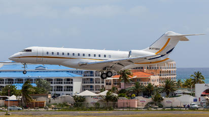 N393BV - Private Bombardier BD-700 Global Express XRS