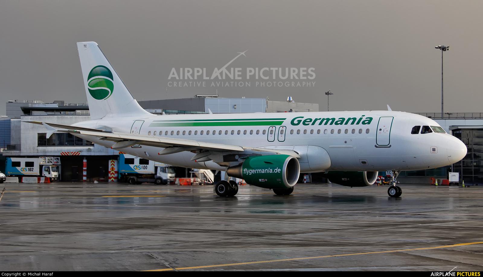 Germania D-ASTC aircraft at Dublin