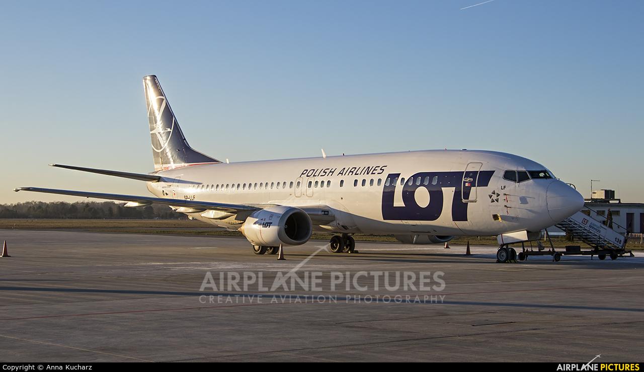 LOT - Polish Airlines SP-LLF aircraft at Warsaw - Frederic Chopin