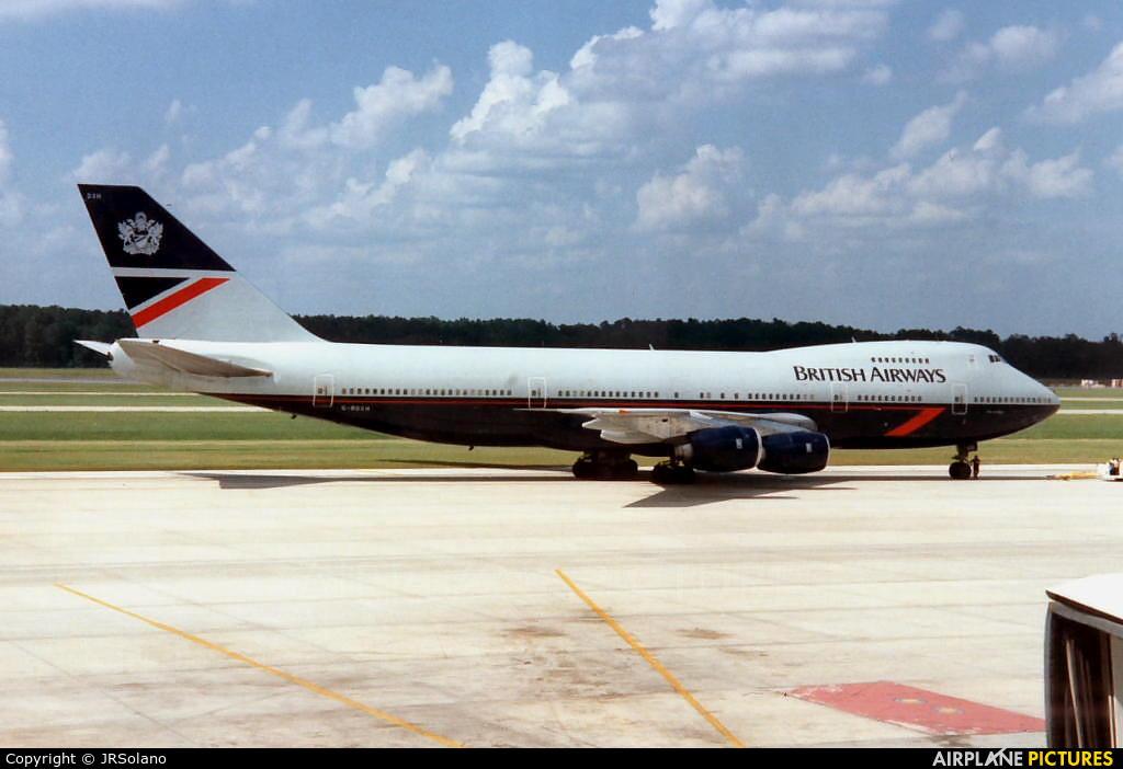 British Airways - aircraft at Houston - George Bush Intl