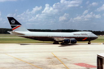 - - British Airways Boeing 747-200