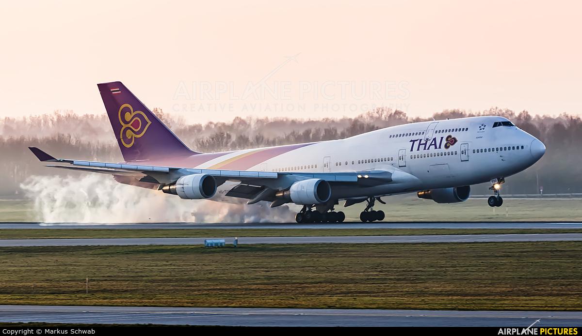 Thai Airways HS-TGO aircraft at Munich