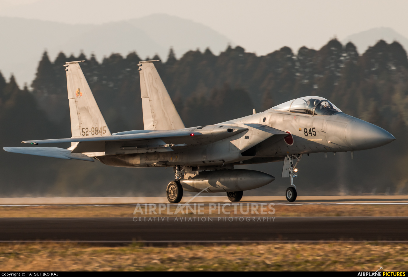 Japan - Air Self Defence Force 52-8845 aircraft at Nyutabaru AB