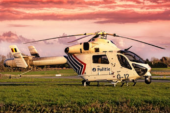 G-12 - Belgium - Police MD Helicopters MD-900 Explorer