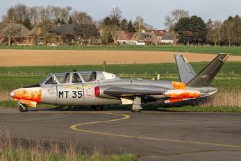 MT-35 - Belgium - Air Force Fouga CM-170 Magister