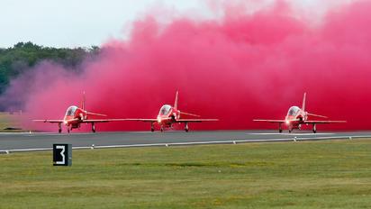 "XX323 - Royal Air Force ""Red Arrows"" British Aerospace Hawk T.1/ 1A"
