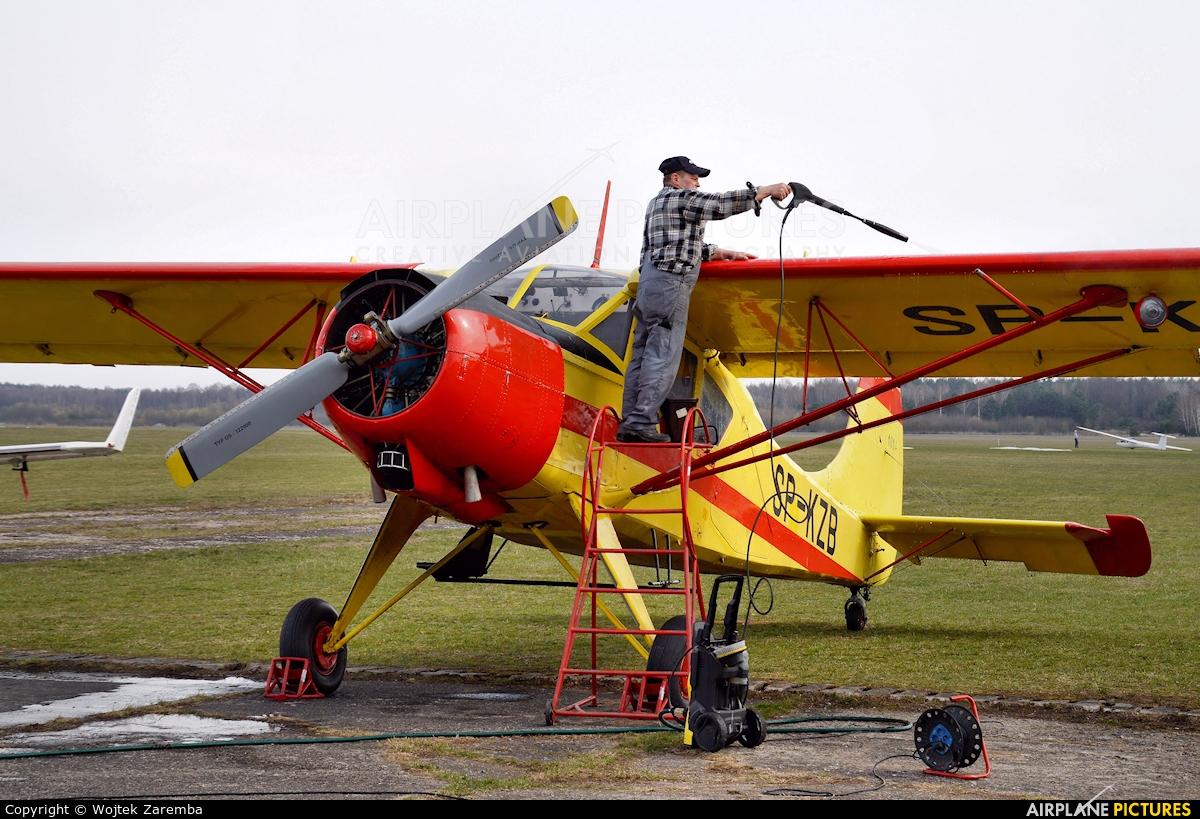 Aeroklub Białostocki SP-KZB aircraft at Białystok - Krywlany