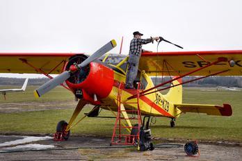 SP-KZB - Aeroklub Białostocki PZL 101 Gawron
