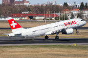 HB-IJE - Swiss Airbus A320 aircraft