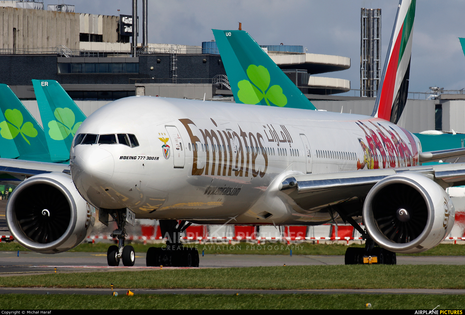 Emirates Airlines A6-EPA aircraft at Dublin