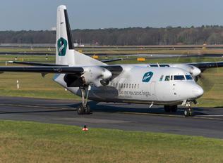 OO-VLM - Vizion Air Fokker 50