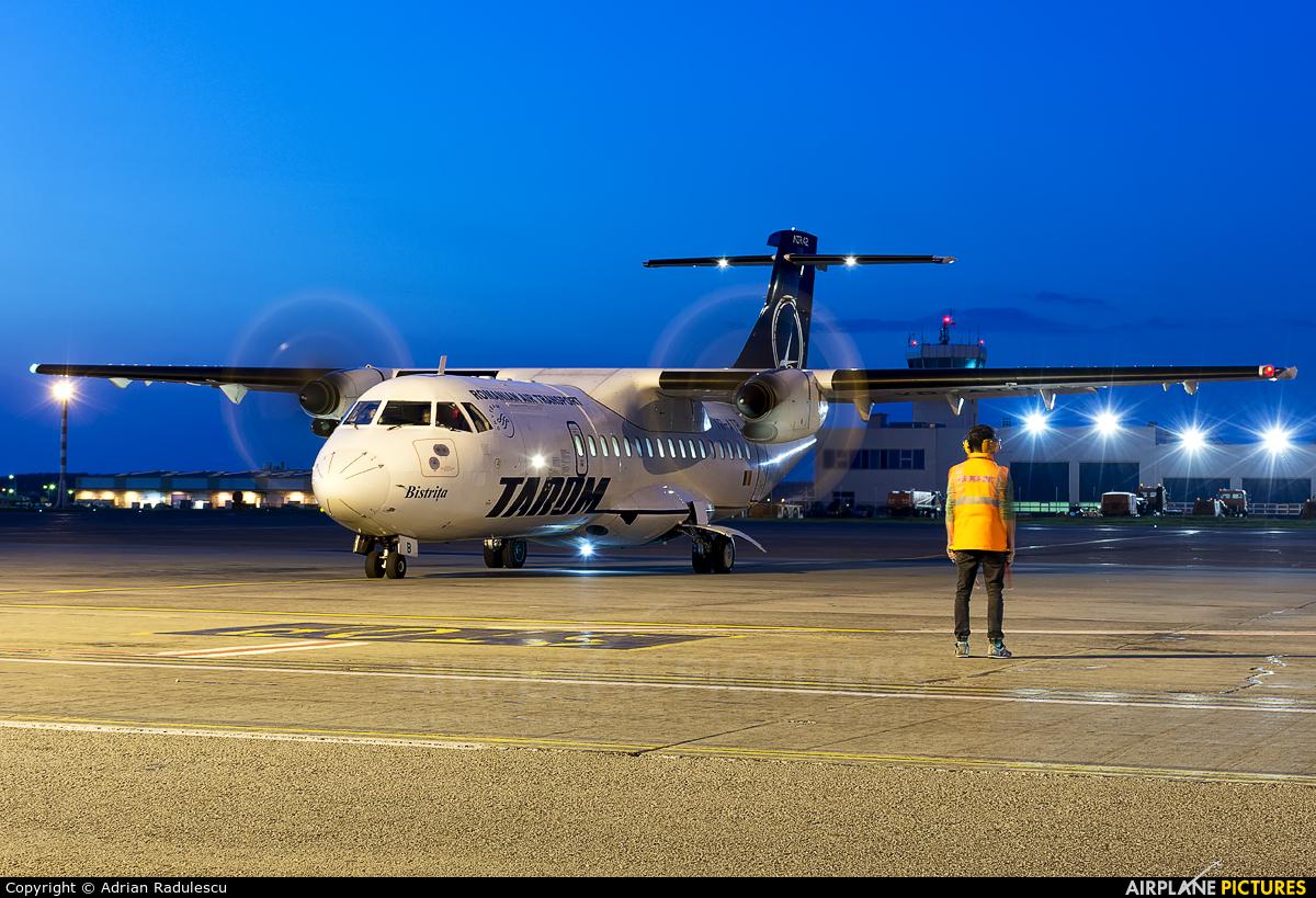 Tarom YR-ATB aircraft at Bucharest - Henri Coandă