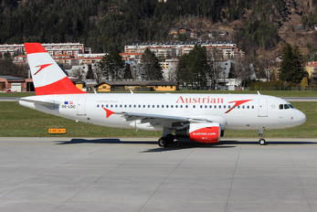 OE-LDC - Austrian Airlines/Arrows/Tyrolean Airbus A319