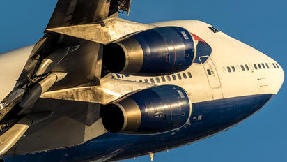 G-BNLV - British Airways Boeing 747-400