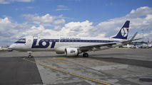 SP-LIC - LOT - Polish Airlines Embraer ERJ-175 (170-200) aircraft