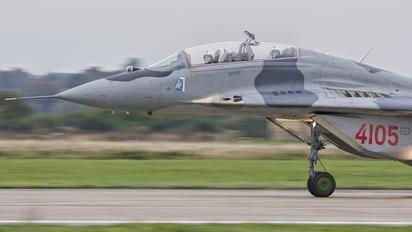 4105 - Poland - Air Force Mikoyan-Gurevich MiG-29GT