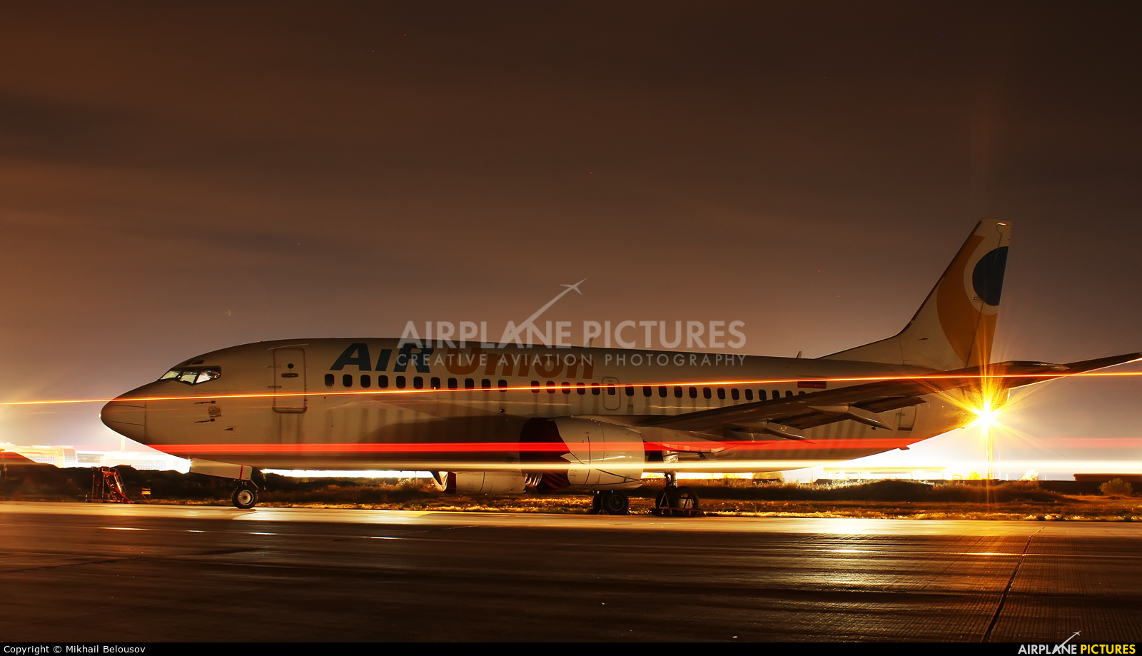 Air Union (Kras Air) EI-DNT aircraft at Moscow - Domodedovo