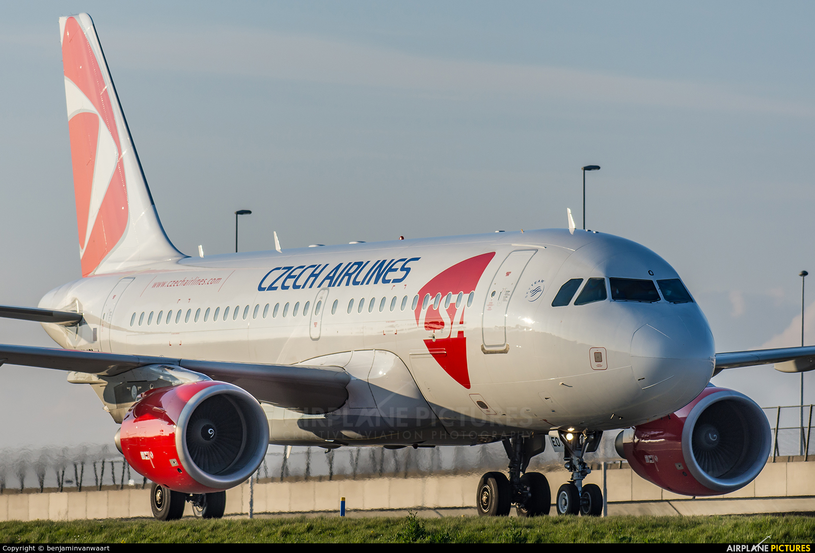 CSA - Czech Airlines OK-NEO aircraft at Amsterdam - Schiphol
