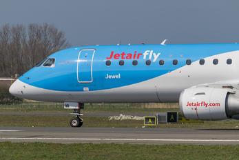OO-JVA - Jetairfly (TUI Airlines Belgium) Embraer ERJ-190 (190-100)