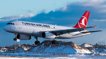 TC-JUJ - Turkish Airlines Airbus A320 aircraft