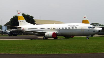 A-7305 - Indonesia - Air Force Boeing 737-400