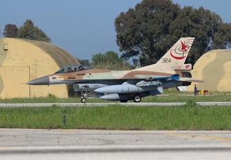 324 - Israel - Defence Force General Dynamics F-16C Fighting Falcon