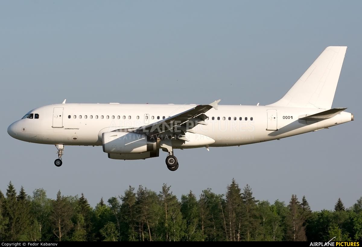 Venezuela - Air Force 0001 aircraft at Moscow - Vnukovo