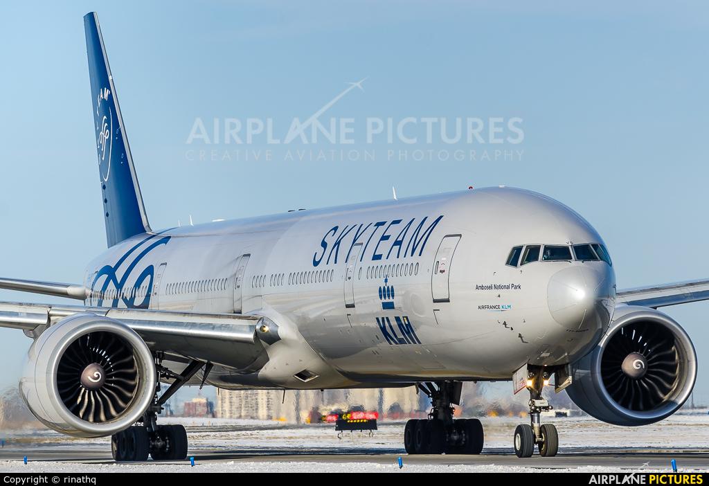 KLM PH-BVD aircraft at Toronto - Pearson Intl, ON