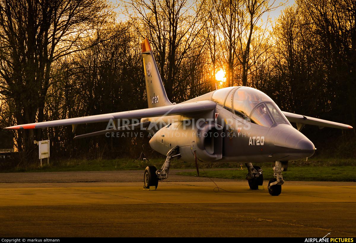 Belgium - Air Force AT20 aircraft at Beauvechain