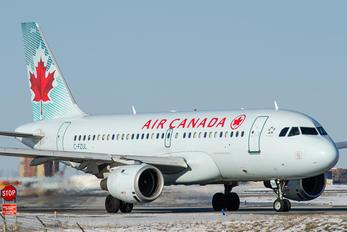 C-FZUL - Air Canada Airbus A319